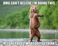 funny bear dancing